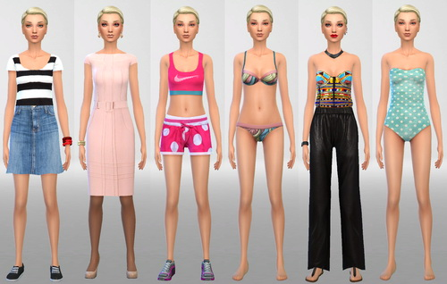 Sims 4 Elise at SIM AGENCY
