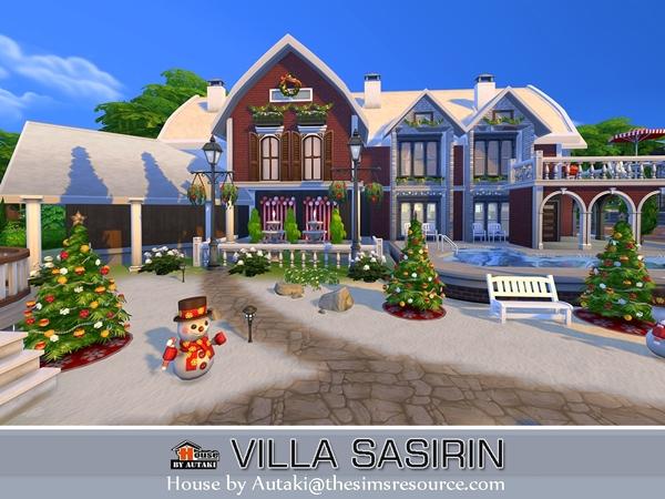 Villa Sasirin by autaki at TSR image 1570 Sims 4 Updates
