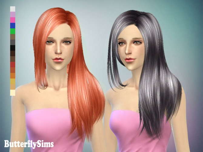 Sims 4 Hair 141 by YOYO (Pay) at Butterfly Sims