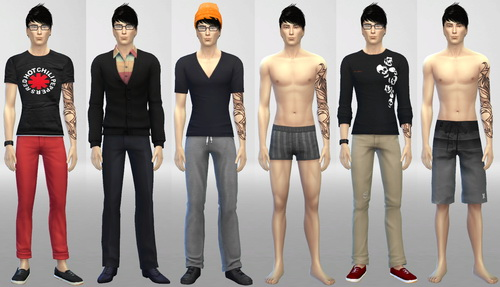 Zane male model at SIM AGENCY image 1591 Sims 4 Updates