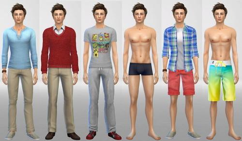Sims 4 Nolan at SIM AGENCY