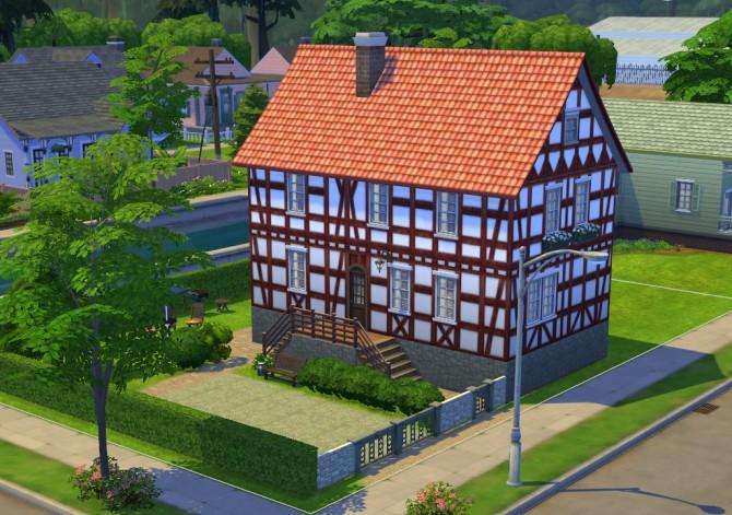 Sims 4 Timber Framing Walls by SleezySlakkard at Mod The Sims