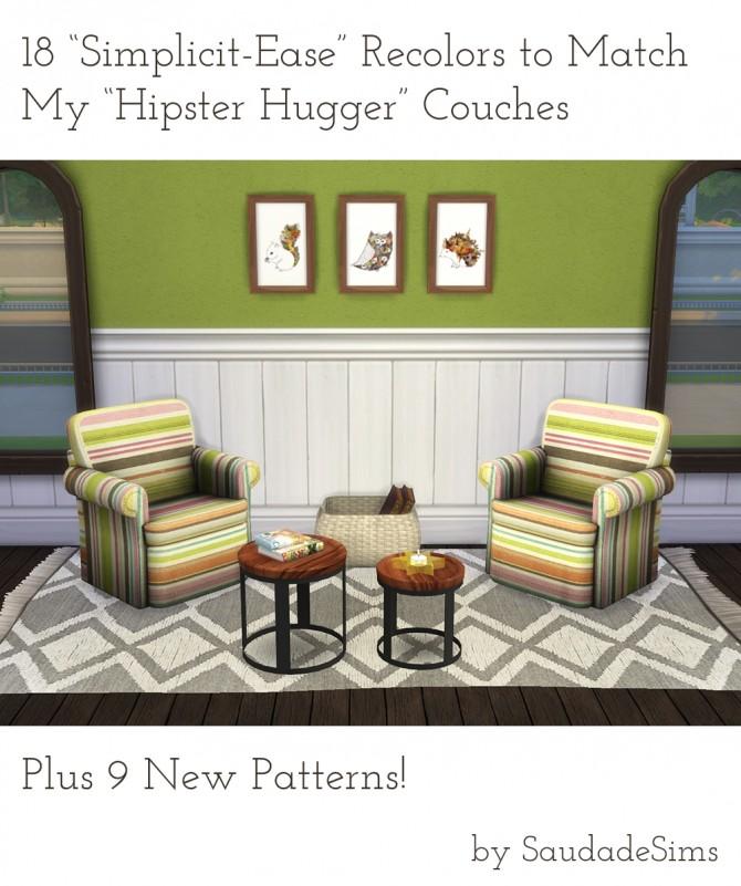 18 recolors + 9 patterns at Saudade Sims image 1644 Sims 4 Updates
