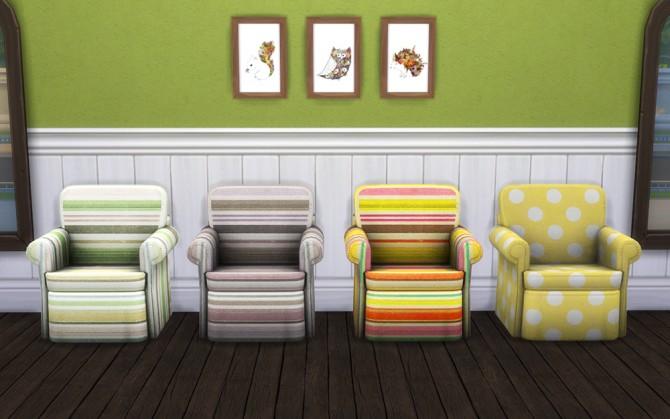 18 recolors + 9 patterns at Saudade Sims image 1653 Sims 4 Updates