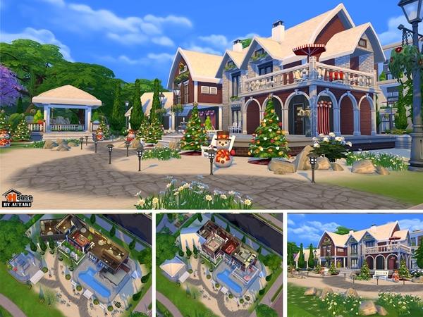 Villa Sasirin by autaki at TSR image 1658 Sims 4 Updates