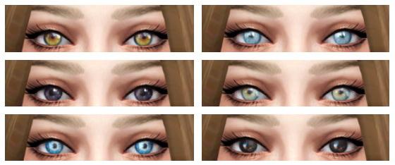 Sims 4 Indie Eyes at Liahxsimblr