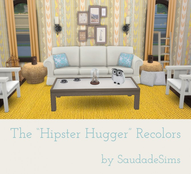 Mens bedroom furniture - Hipster Hugger Sofa Recolors At Saudade Sims Image 1693 Sims 4 Updates
