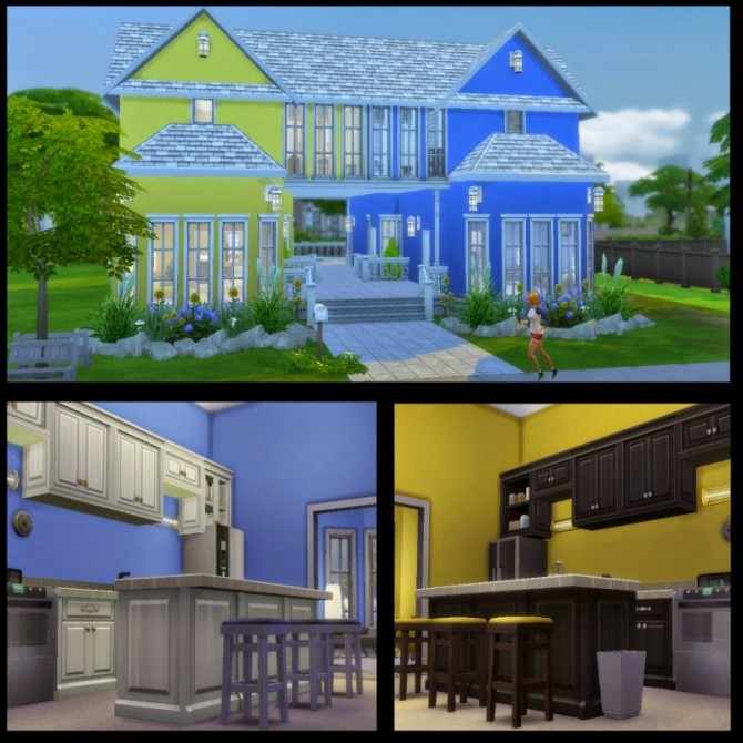 Sims 4 Sunflower Gardens house V2 at Dachs Sims
