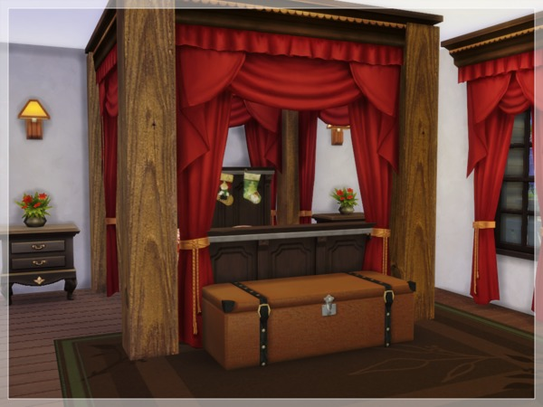 Christmas Log Cabin by Arelien at TSR image 1735 Sims 4 Updates