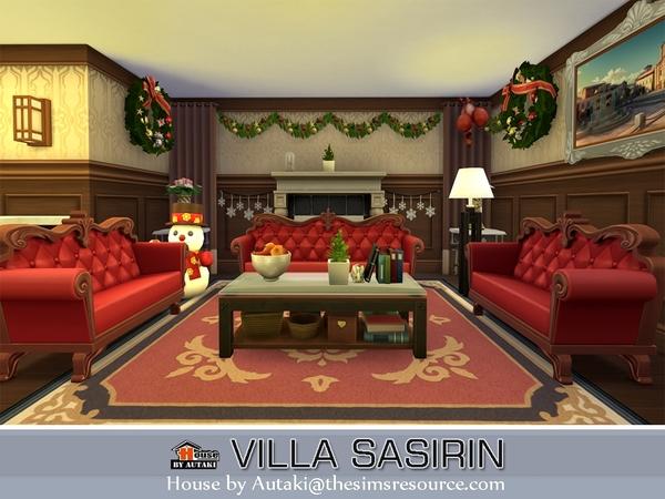 Villa Sasirin by autaki at TSR image 1738 Sims 4 Updates