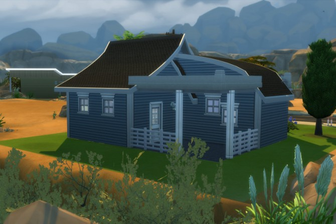 Oak Plaza starter home by Christine at CC4Sims image 1744 Sims 4 Updates