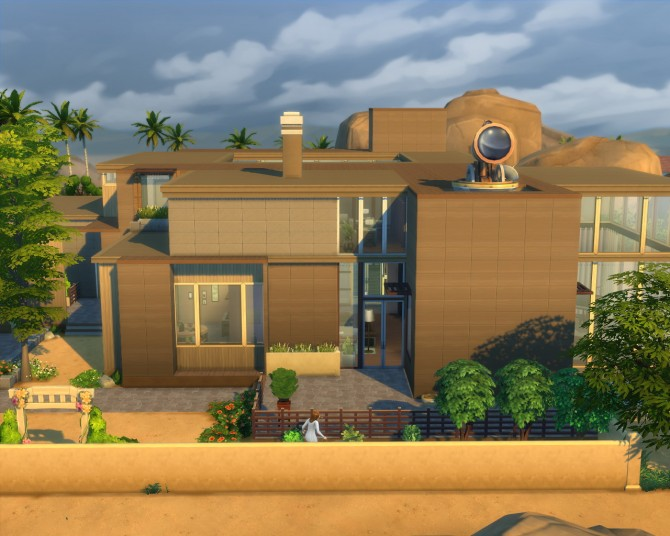 Sims 4 Warm Winds Oasis house by SimEve at CreatEve Works