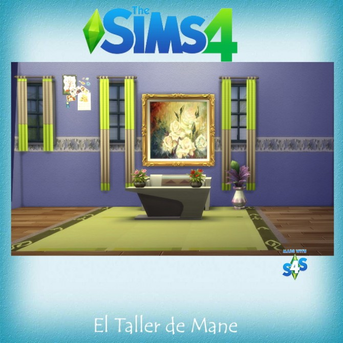 Sims 4 Paintings Collection at El Taller de Mane