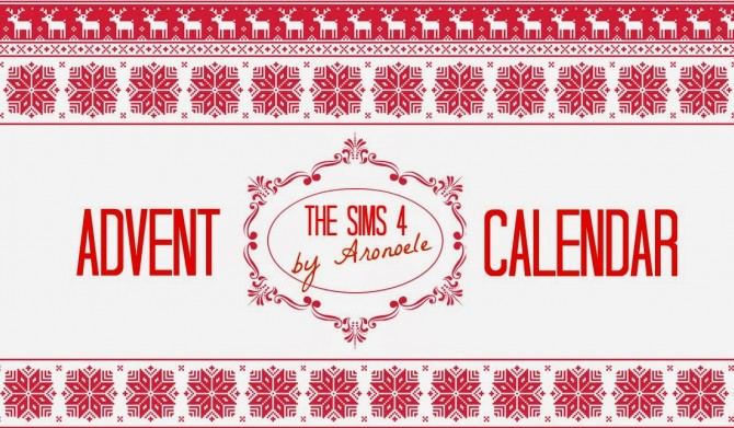 Advent calendar   new items everyday at Aronoele Sims4 image 185 Sims 4 Updates