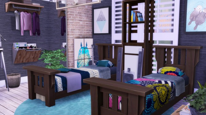 Dorm Apartment V.1 at Simkea image 19111 Sims 4 Updates