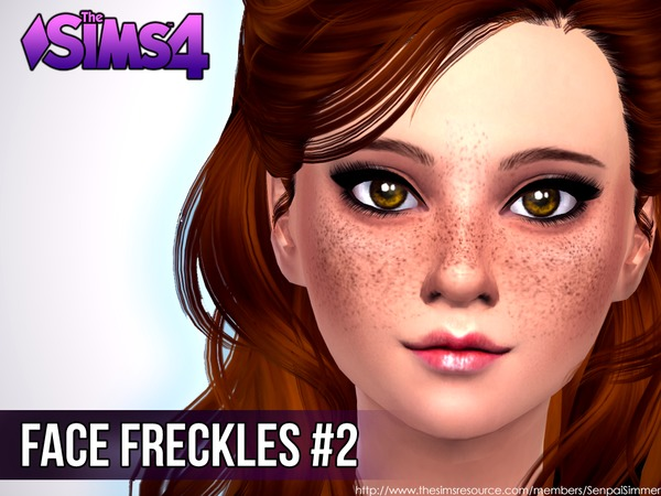 Face Freckles #2 by SenpaiSimmer at TSR image 1929 Sims 4 Updates