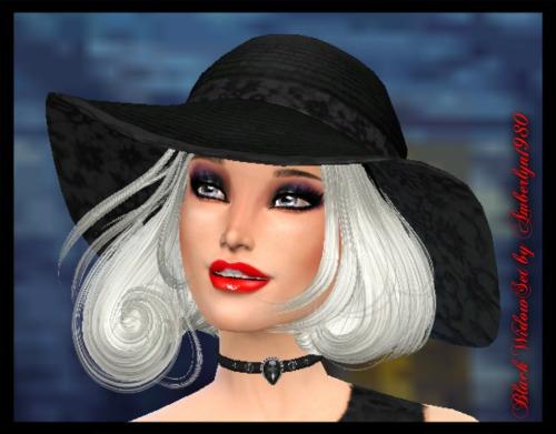 Sims 4 Black Widow Set at Amberlyn Designs