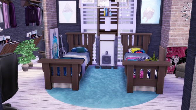 Dorm Apartment V.1 at Simkea image 1963 Sims 4 Updates