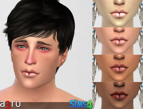 Sims 4 Lips RJ079 at A3RU