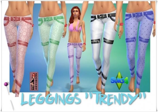 Trendy leggings at Annett's Sims 4 Welt image 2092 Sims 4 Updates