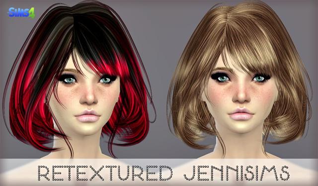 Sims 4 Elasims Hairs Retexture at Jenni Sims