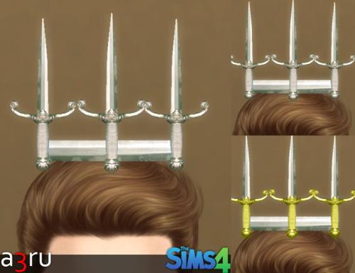 Sims 4 Dagger Crown at A3RU
