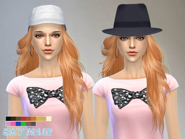 Hair 227 by Skysims at TSR image 2220 Sims 4 Updates