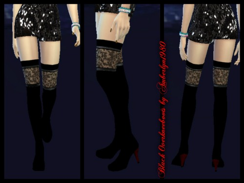 Sims 4 Overknee Boots at Amberlyn Designs