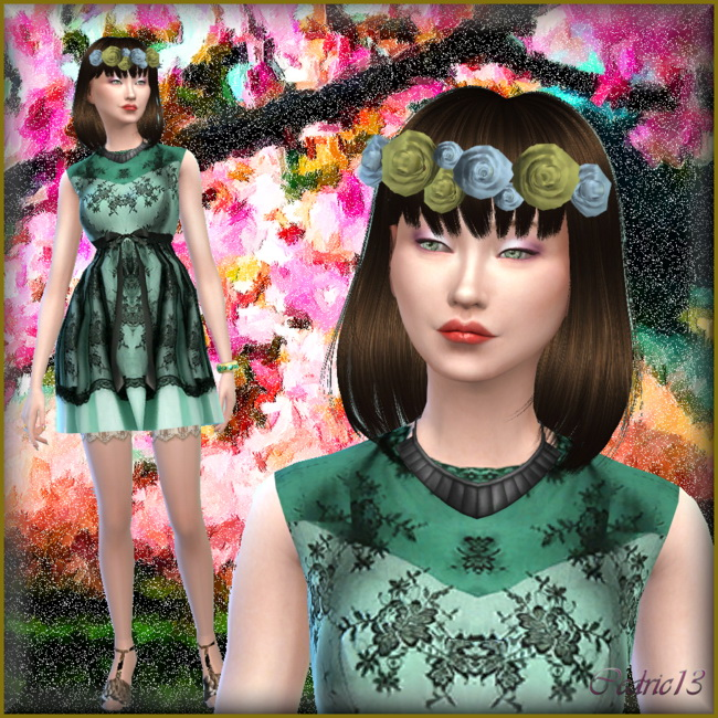Suzy Wan by Cedric13 at L'univers de Nicole image 23110 Sims 4 Updates