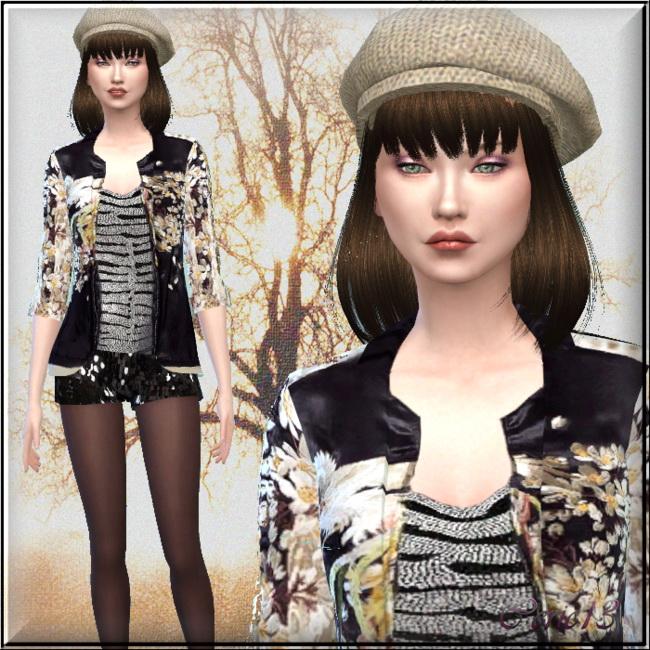 Sims 4 Suzy Wan by Cedric13 at L'univers de Nicole