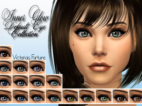 Sims 4 Victorias Fortune Inner Glow Default Eye Collection at TSR