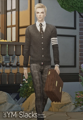 Sims 4 YM Slacks at SAC