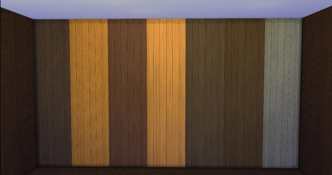 Icad 39 s basic wood paneling by adonispluto at mod the sims Ways to update wood paneling