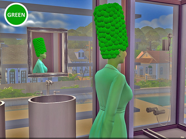 Marge Simpson hair at Splay image 2612 Sims 4 Updates