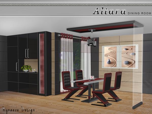 Sims 4 Altara Dining Room by NynaeveDesign at TSR