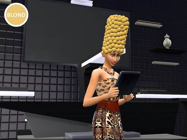 Marge Simpson hair at Splay image 2713 Sims 4 Updates