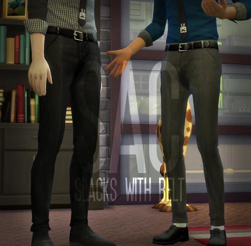 Sims 4 Slacks at SAC