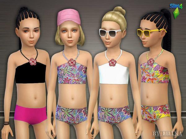Stylish in the Sunshine swimwear by lillka at TSR image 2911 Sims 4 Updates