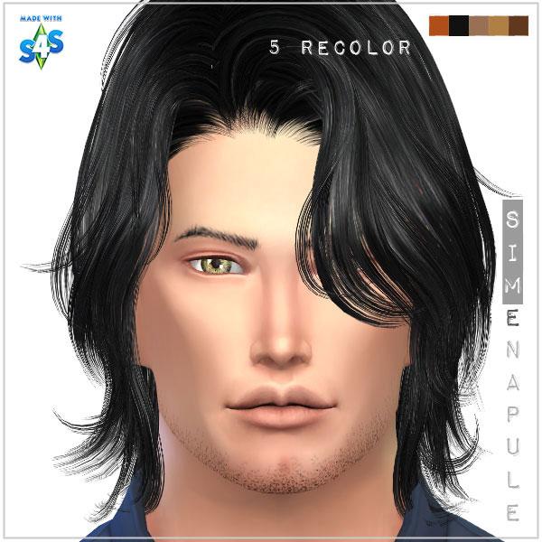 Sims 4 4 new beards by Ronja at Simenapule