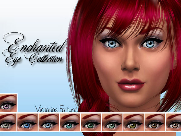 Sims 4 Enchanted Eye Collection by fortunecookie1 at TSR