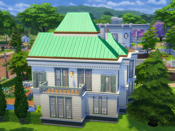Sims 4 The Greenwatch Mansion by Ineliz at TSR