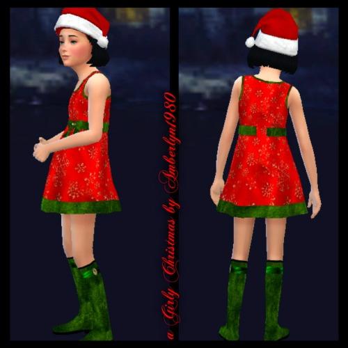 Sims 4 A Girly Christmas Set at Amberlyn Designs