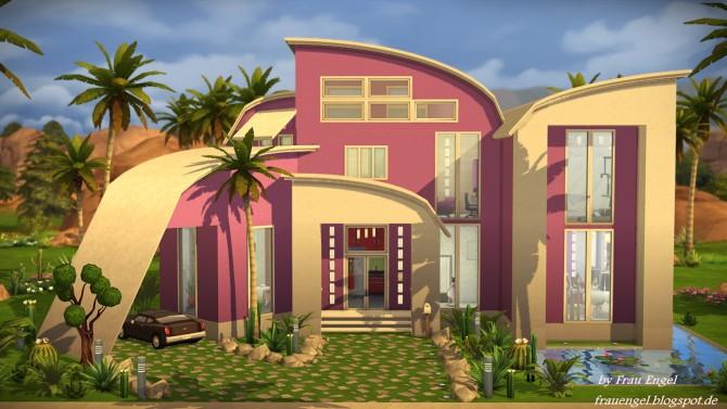 Modern Mansion at Frau Engel image 3118 Sims 4 Updates
