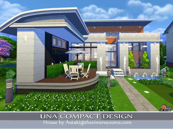 Una Compact Design by Autaki at TSR image 3211 Sims 4 Updates