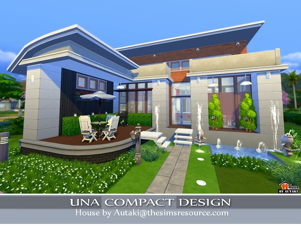 Una Compact Design by Autaki at TSR image 3310 Sims 4 Updates