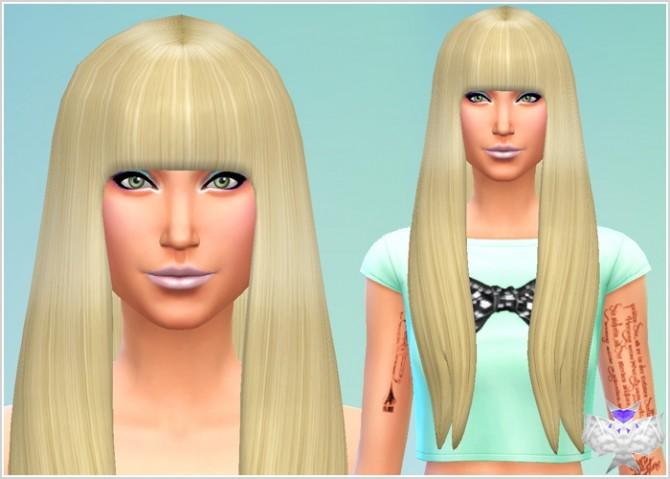 Sims 4 Poker Face Hair at David Sims