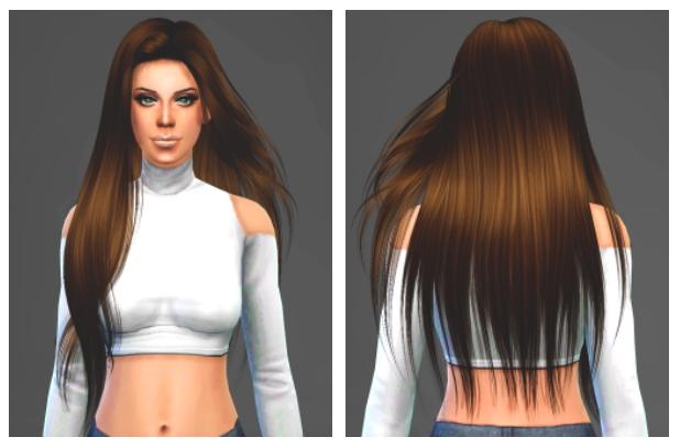 Sims 4 Hair retextures at Artemis Sims