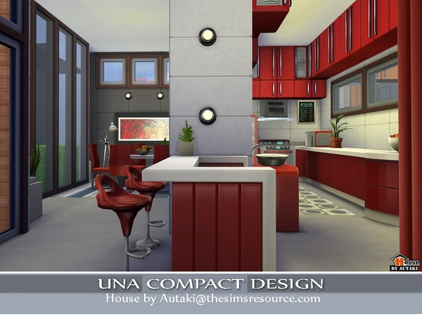 Una Compact Design by Autaki at TSR image 3510 Sims 4 Updates