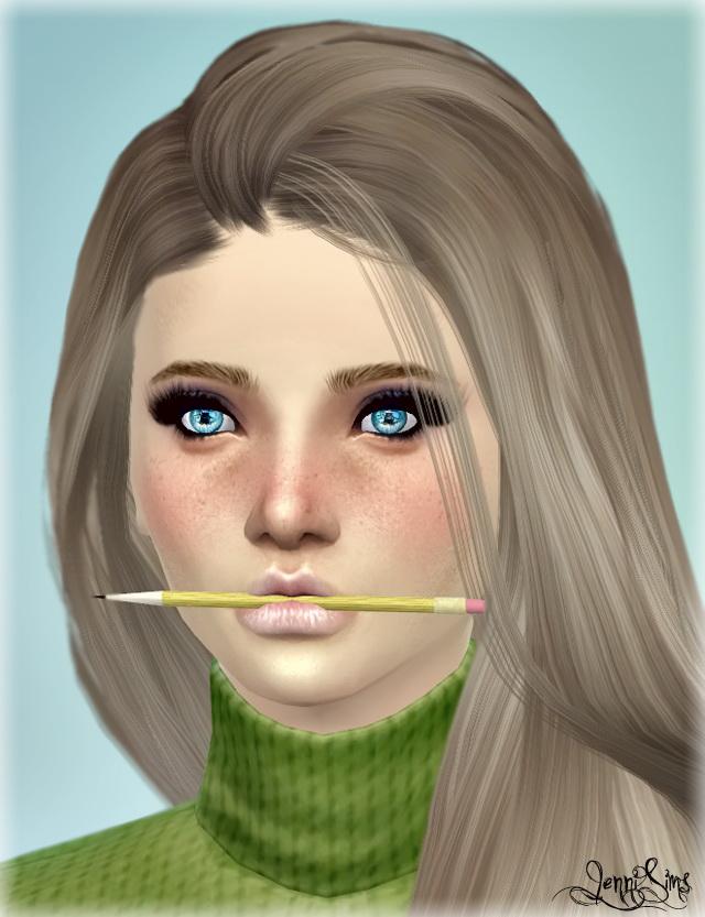 Sims 4 New Mesh Pencil at Jenni Sims