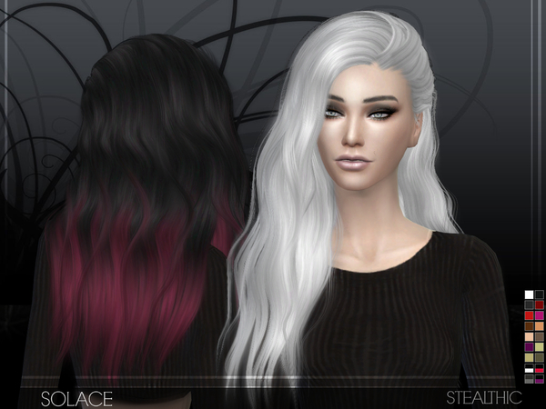 Solace female hair by Stealthic at TSR image 3525 Sims 4 Updates